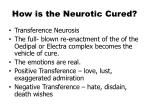 how is the neurotic cured