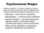 psychosexual stages1
