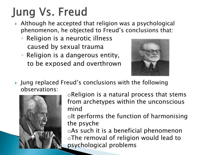 Freud vs jung behaviour
