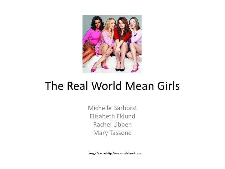 the real world mean girls n.