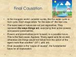 final causation