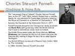 charles stewart parnell gladstone home rule