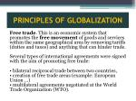 principles of globalization