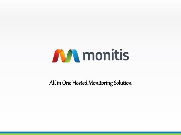 all in one hosted monitoring solution n.