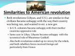 similarities to american revolution