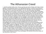 the athanasian creed1