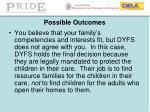 possible outcomes4