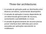 three tier architectures1