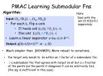 pmac learning submodular fns1