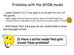 problems with the ghim model
