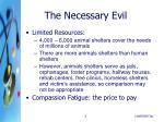 the necessary evil1