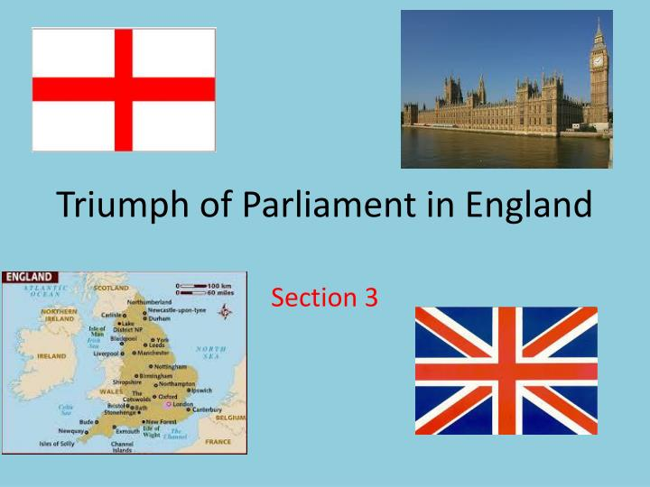 triumph of parliament in england n.