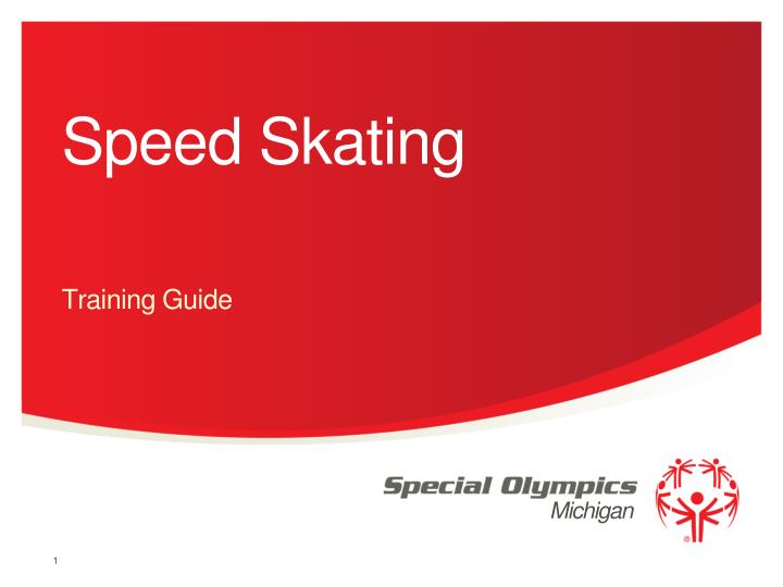 speed skating n.