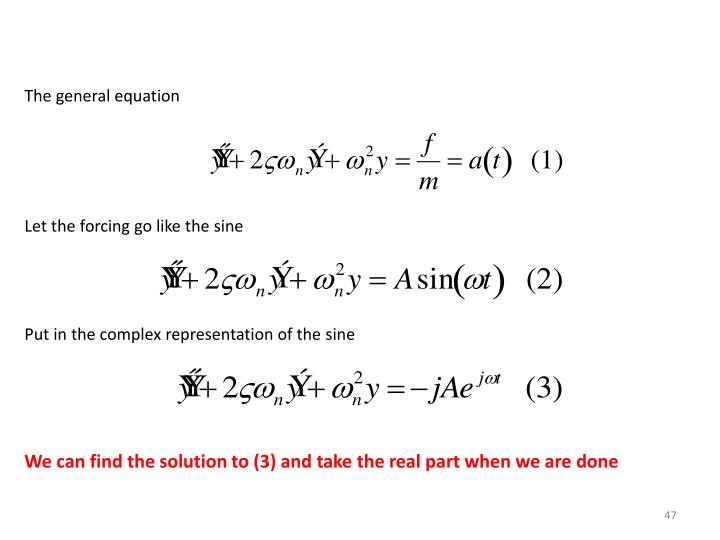 The general equation