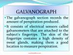 galvanograph