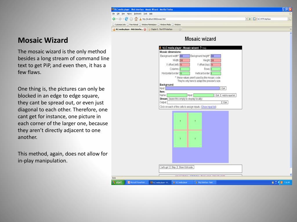 Vlc Mosaic Wizard