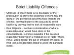 strict liability offences1