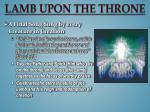lamb upon the throne4