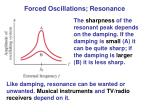 forced oscillations resonance1