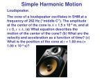 simple harmonic motion9