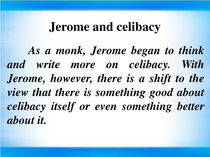 Jerome and celibacy