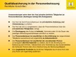 qualit tssicherung in der personenbetreuung rechtliche vorschriften6