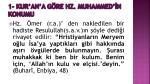 1 kur an a g re hz muhammed n konumu5