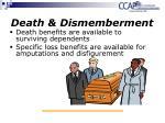 death dismemberment