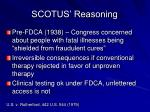 scotus reasoning