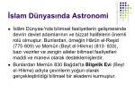 slam d nyas nda astronomi