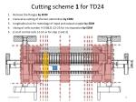 cutting scheme 1 for td24