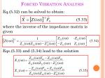 forced vibration analysis3