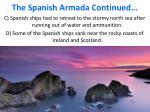 the spanish armada continued1