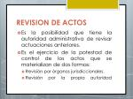 revision de actos1