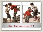 no extortion