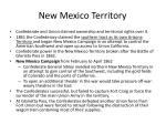 new mexico territory
