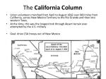 the california column