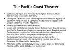 the pacific coast theater