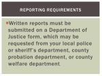reporting requirements2