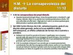 h m la consapevolezza dei disturbi 11 12