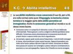 k c abilit intellettive 4 8