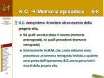 k c memoria episodica 5 8