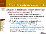 p n amnesia semantica 1 5