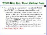 wscc nine bus three machine case