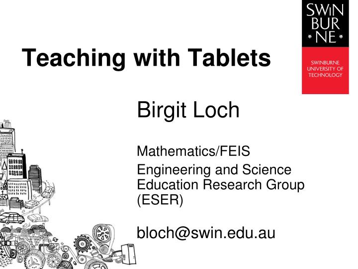 teaching with tablets n.