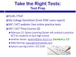 take the right tests test prep1