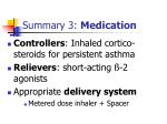 summary 3 medication