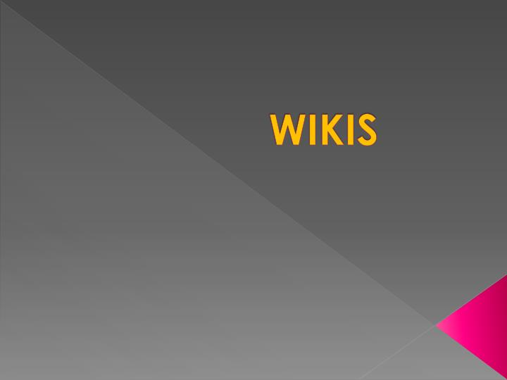 wikis n.