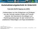 institut f r technik und ihre didaktik thomas weber 201022