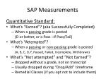 sap measurements3